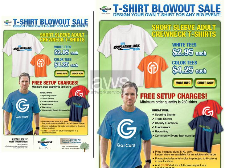 Creative brochure and Flyer Design - ArtworkServicesUSA.com